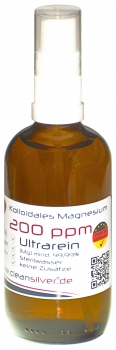 Magnesium (Mg) 200 ppm  100ml Pumpsprüher