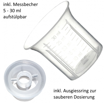 CleanSilver® - Sterilwasser mit Germanium (Ge 99,999%) 50ppm  500ml